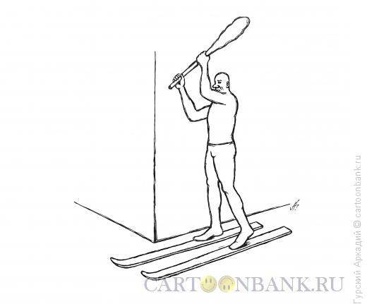 Карикатура: за углом, Гурский Аркадий