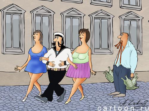 Карикатура: альтернатива, Александр Зудин