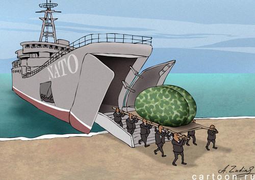 Карикатура: Вынос мозга, Александр Зудин