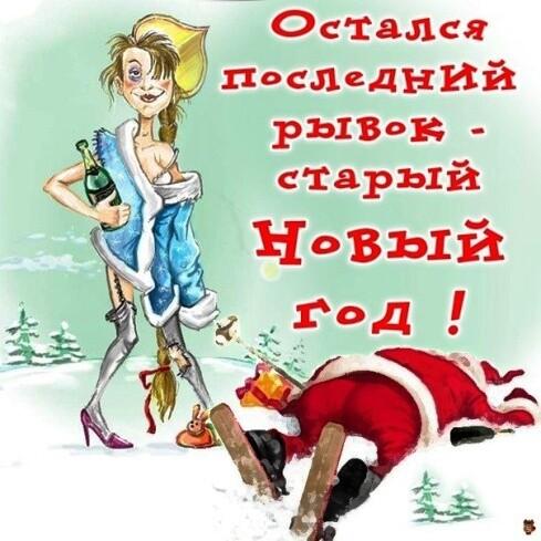 Мем: Старый Новый год, Партизанка ЁЖ