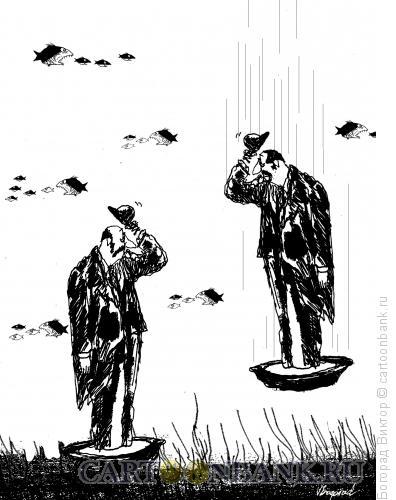 Карикатура: Приветствие, Богорад Виктор