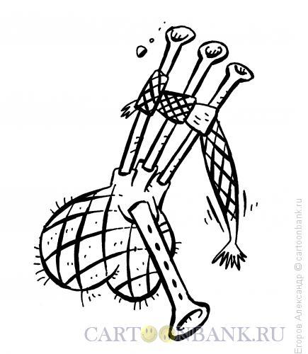 Карикатура: Волынка, Егоров Александр
