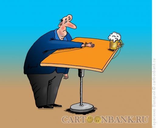 Карикатура: Завязал, Тарасенко Валерий