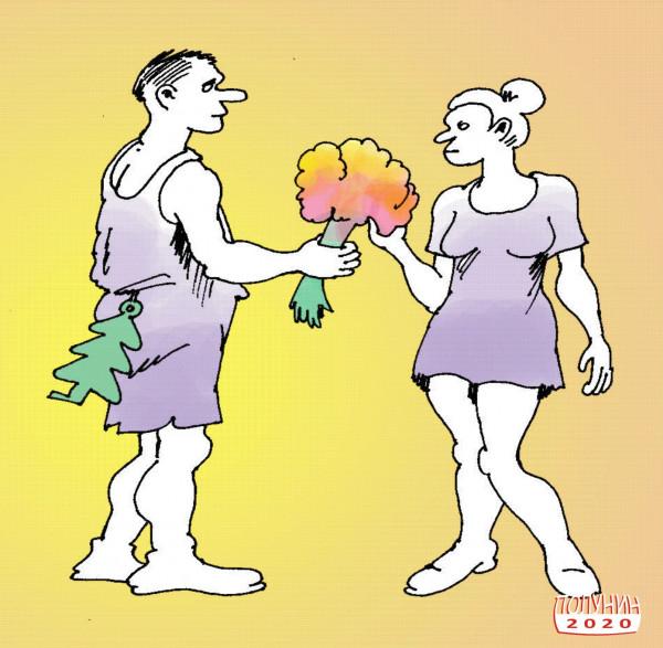 Карикатура: ОСВЕЖИТЕЛЬ ЧУВСТВ, АЛЕКСАНДР ПОЛУНИН