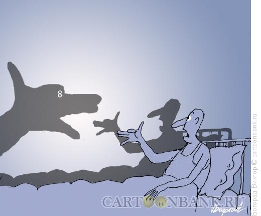 Карикатура: Театр теней, Богорад Виктор
