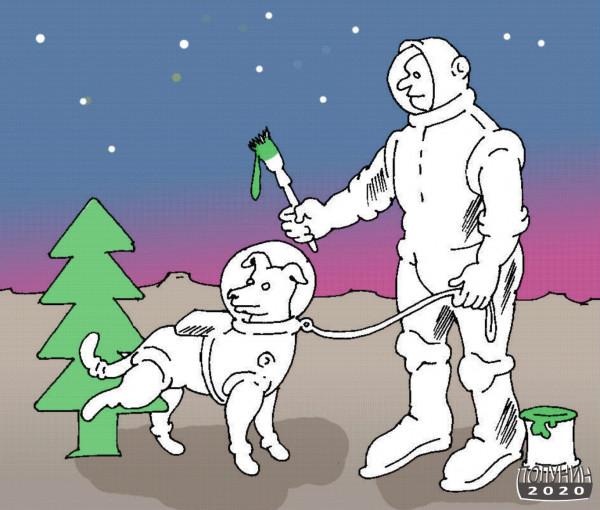 Карикатура: ЗЕМНЫЕ ПРИВЫЧКИ, Александр Полунин