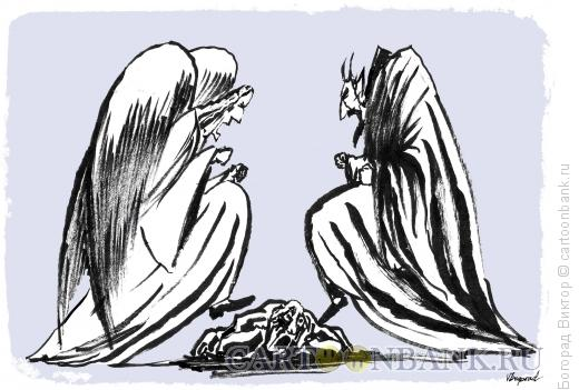 Карикатура: Избиение, Богорад Виктор