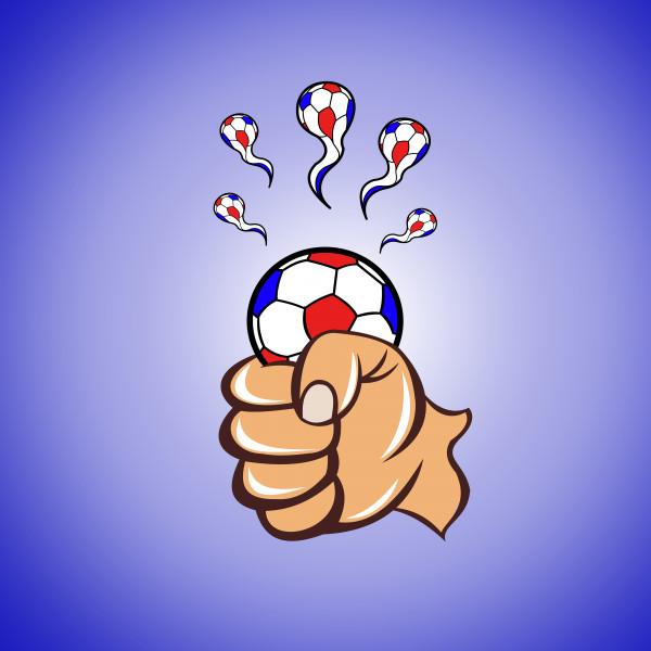 Карикатура: Игра рукой