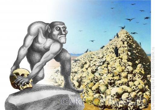 Карикатура: Апофеоз революции., Сыченко Сергей