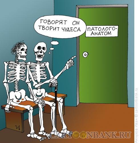 Карикатура: Патологоанатом, Анчуков Иван