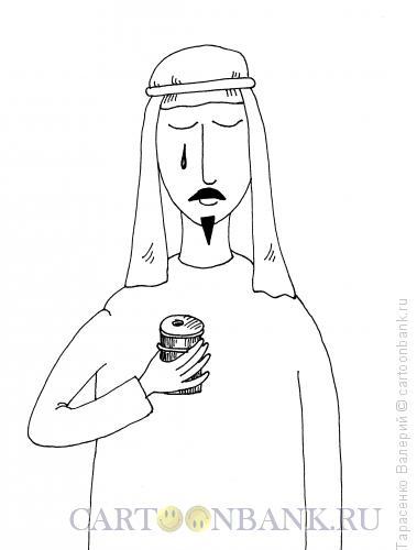 Карикатура: Слеза олигарха, Тарасенко Валерий