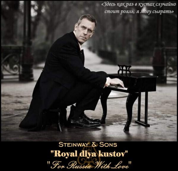 Мем: Рояль для кустов, Серж Скоров