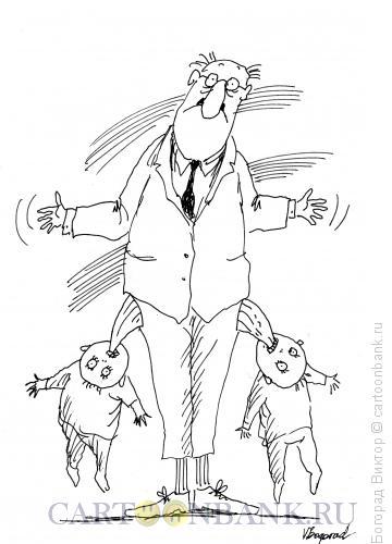 Карикатура: Дети-одни расходы, Богорад Виктор