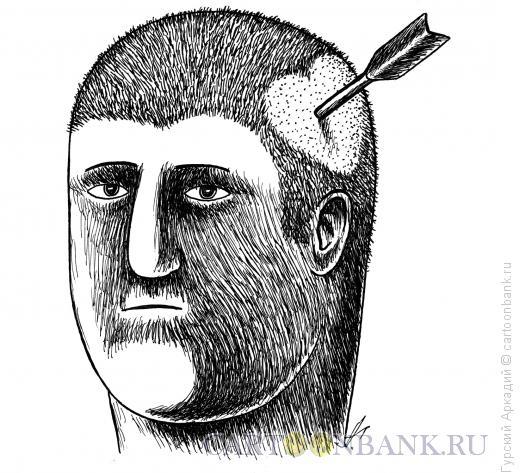 Карикатура: прочёска, Гурский Аркадий