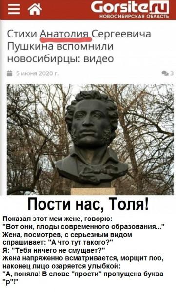 Мем: Прости нас, Толя!