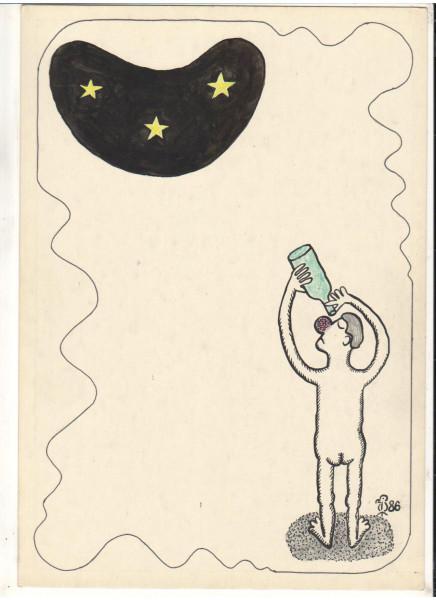 Карикатура: Коньячные звёзды, Минаев Вяч