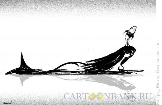 Карикатура: Мама-русалка, Богорад Виктор