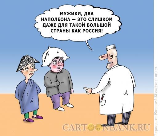Карикатура: Наполеоны, Тарасенко Валерий