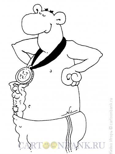 Карикатура: Атлант, Кийко Игорь