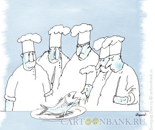 Карикатура: Миссионер, Богорад Виктор