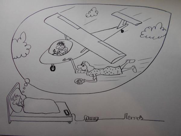 Карикатура: Сон, Петров Александр