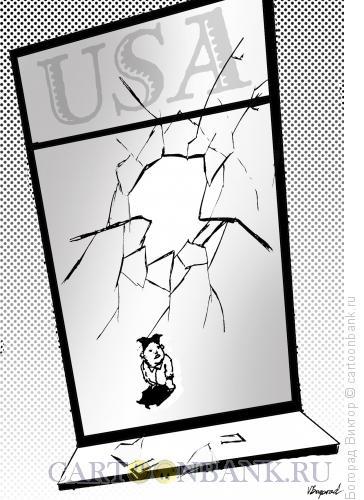 Карикатура: Хулиган, Богорад Виктор