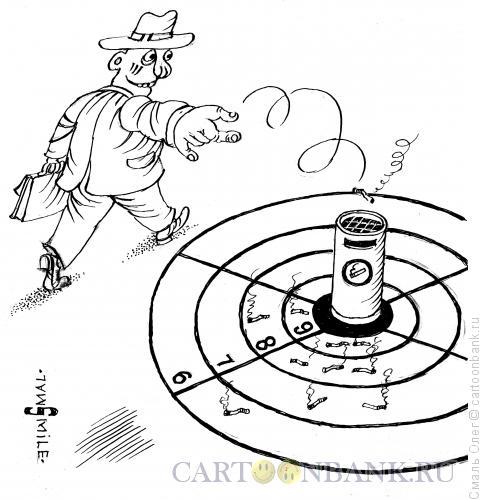 Карикатура: Снайпер, Смаль Олег