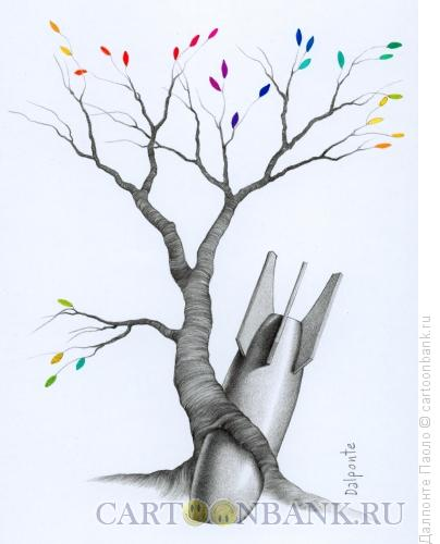 Карикатура: экология, Далпонте Паоло