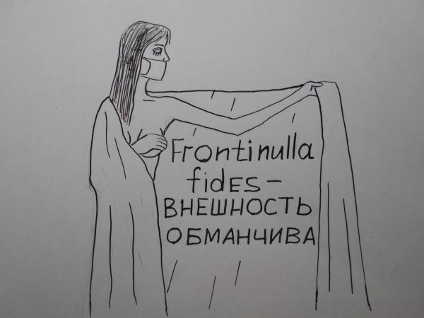 Карикатура: жещина с покрывалом 34, Петров Александр