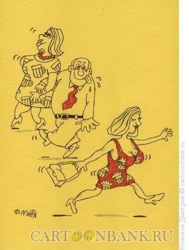 Карикатура: Любовь к пиву, Кононов Дмитрий