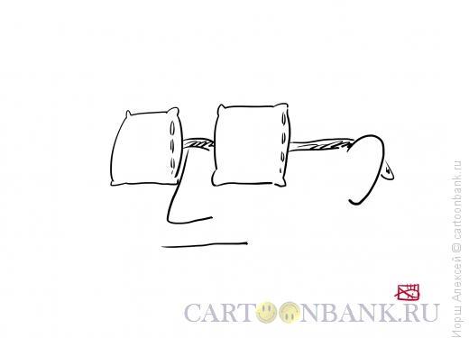 Карикатура: Утро, Иорш Алексей