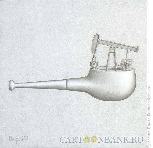 Карикатура: трубка-помпа, Далпонте Паоло