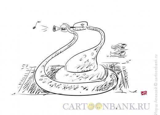Карикатура: Змея, Иорш Алексей