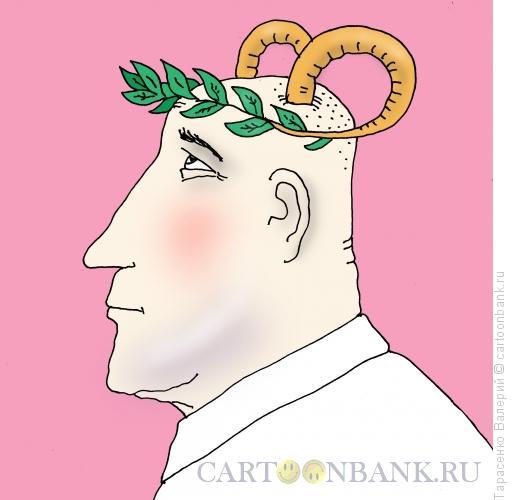 Карикатура: Венцерогоносец, Тарасенко Валерий