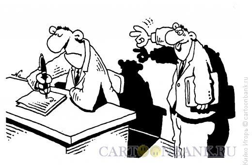 Карикатура: Игра с тенью, Кийко Игорь