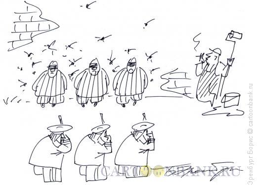 Карикатура: ремонт, Эренбург Борис