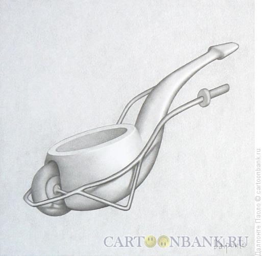 Карикатура: трубка-тачка, Далпонте Паоло