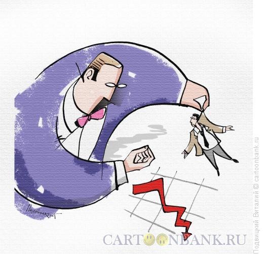 Карикатура: Долг давай!, Подвицкий Виталий