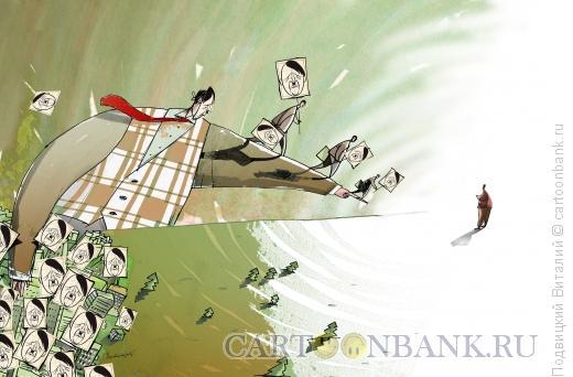 Карикатура: Идеологию в массы, Подвицкий Виталий