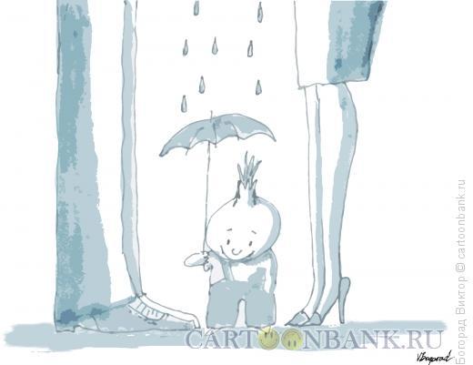 Карикатура: Луковое горе, Богорад Виктор