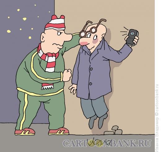 Карикатура: Сёмка на память, Иванов Владимир