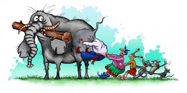Карикатура: Без названия, Иванов Игорь
