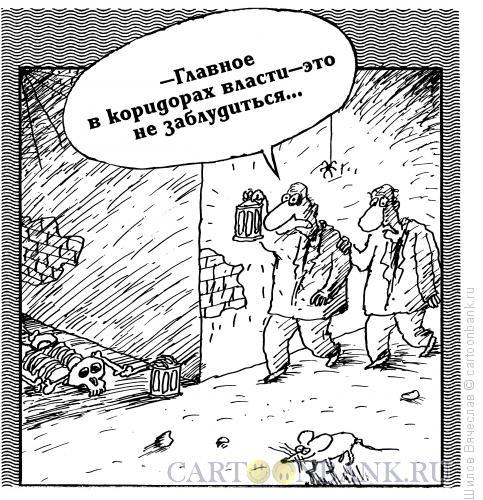 Карикатура: В коридорах власти, Шилов Вячеслав