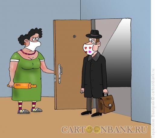 Карикатура: Маски-шоу, Тарасенко Валерий
