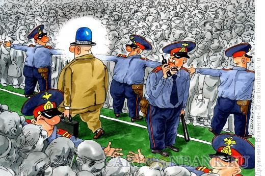 Карикатура: Глас народа, Дружинин Валентин