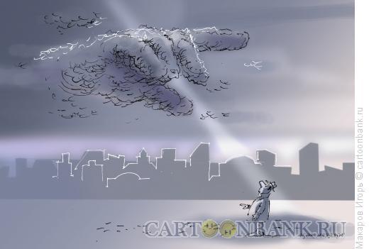Карикатура: осень3, Макаров Игорь