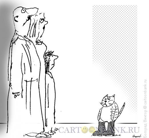 Карикатура: Кот в сапогах, Богорад Виктор