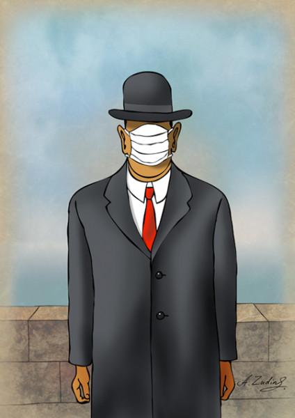 Карикатура: Призрак бродит по Европе, Александр Зудин