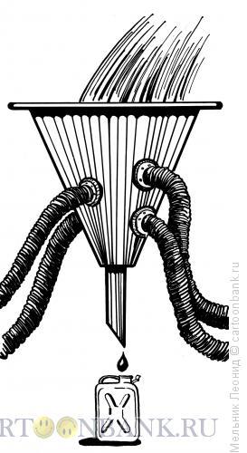 Карикатура: Воруют!!!, Мельник Леонид