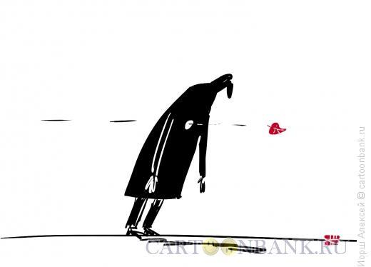 Карикатура: Лист навылет, Иорш Алексей